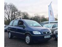 2005 Vauxhall Zafira 1.8 i 16v Life 5dr