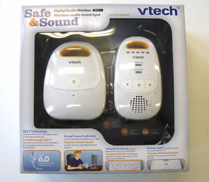 VTECH Safe & Sound DM111 Digital Audio Baby Infant Monitor NEW