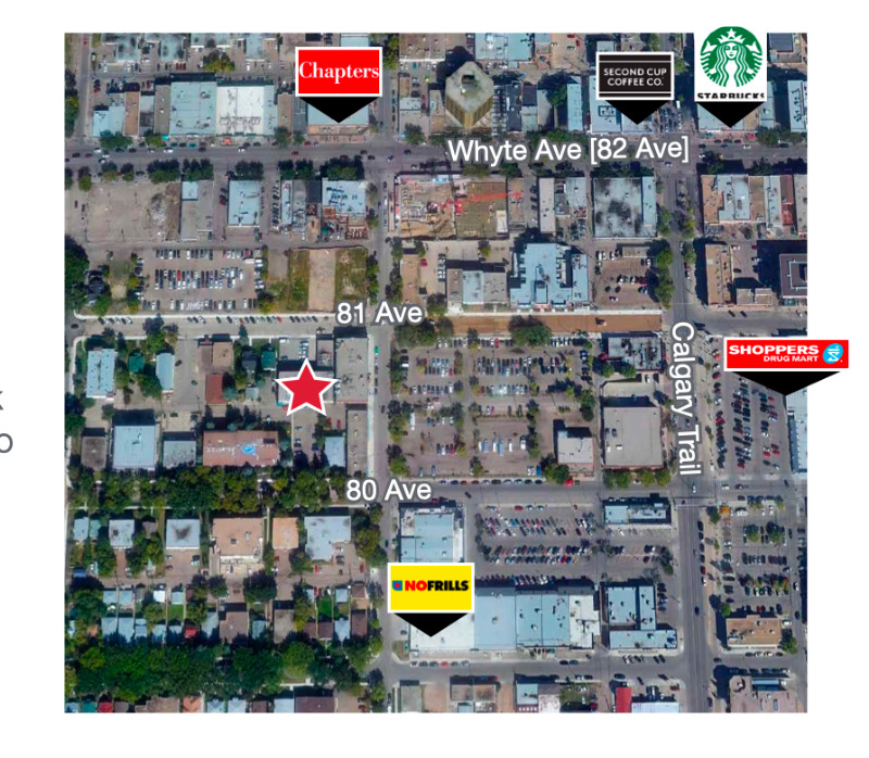 875-3850sqft Whyte Ave Office Space For Lease