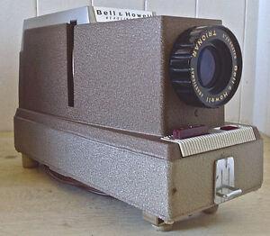 Vintage. Collection. Projecteur à diapositives Bell & Howell