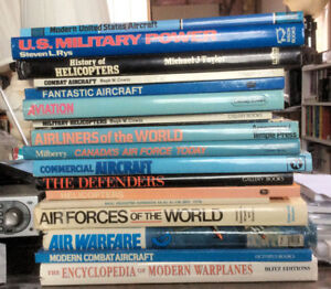 Various Books on Aircraft