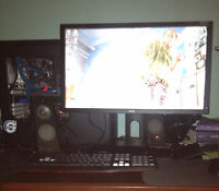 GAMING PC i2500k GTX680 Solid-state drive + water  cooling