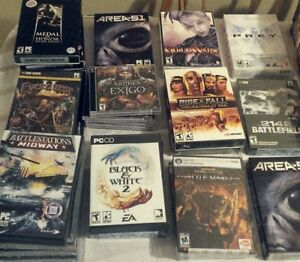 Wholesale Lot of in package new Games great inventory OBO 90+++