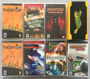 Playstation PSP Games Lot