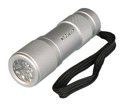 9-LED-Heavy-Duty-Aluminum-Flashlight (Sold in Lots of Ten!) New! B1