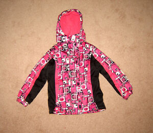 Girls Winter, 3-in-1 Jkt, Clothes  size 7, 8 / Winter Boots sz 6