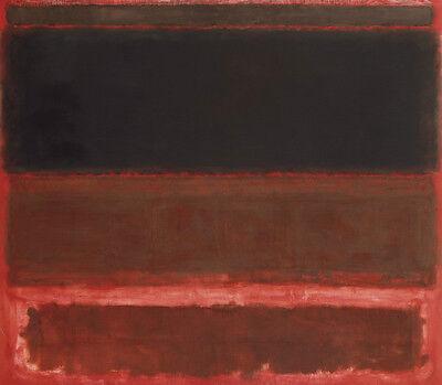 ABSTRACT ART PRINT No 3 1967 Mark Rothko 32x28
