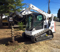 Bobcat Services! - Tracked Skidsteer and Operator FOR HIRE