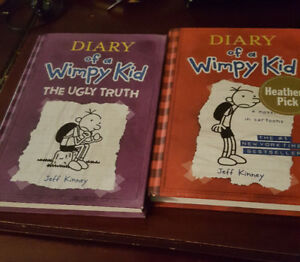 Diary Of A Wimpy Kid Hard Cover Books