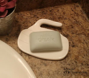 Curling Rock Soap Dish
