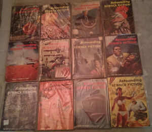 Astounding Science Fiction; Complete Year Set 1955 (12 issues)