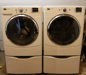Maytag 3000 series washer and steam dryer