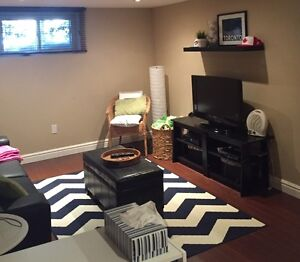 One Bedroom Basement Apartment for Lease in Long Branch