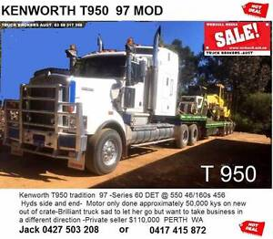 KENWORTH T950 Perth Perth City Area Preview