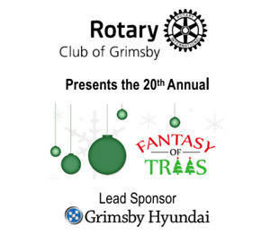 Grimsby Fantasy of Trees Nov 22 - Dec 8 2019