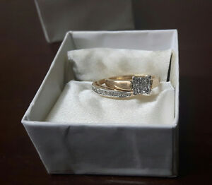 Engagement set/Promise Ring