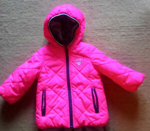 Toddler winter coat almost new