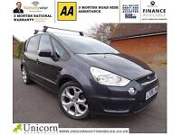 2007 Ford S-MAX 2.0TDCi (140ps) Titanium Full leather, Panroof