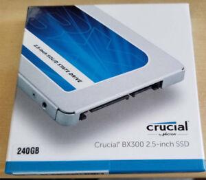 Crucial 240GB BX300 SSD New / Sealed! 3 years warranty