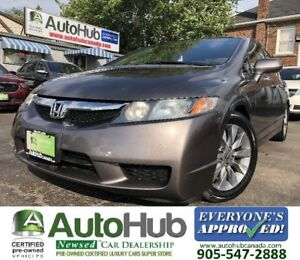2009 Honda Civic EX-L-LEATHER-SUNROOF