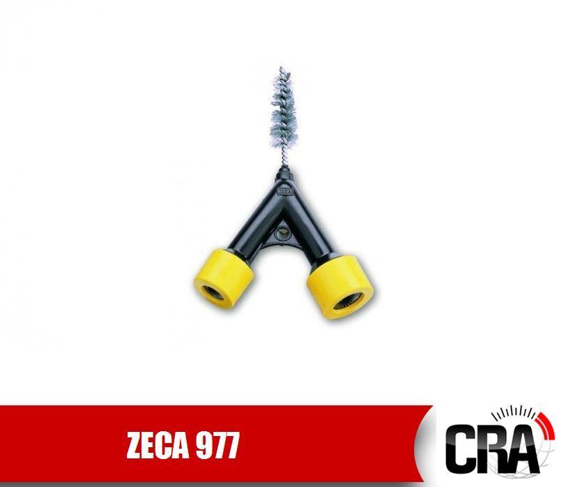 ZECA 977 Pulitore a spazzola per morsetti batteria batterie arrugginiti