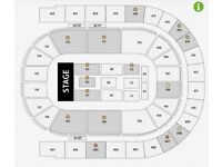 2 MICHAEL MCINTYRE BLOCK A3 TICKETS O2 ARENA 11/10/18