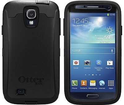 NEW OTTERBOX DEFENDER SERIES SAMSUNG GALAXY S4 BLACK 77-27434 SAMSUNG  I9500 on Rummage