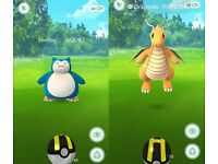 Pokemon Go Catching Service, Ultra rares and more. Dragonite, Snorlax, Charizard, Gyarados etc