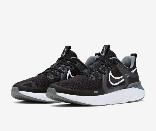 Nike LEGEND REACT 2 UK 7.5 EU 42 Black White Running AT1368 001