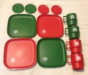 Vintage Tupperware Coasters