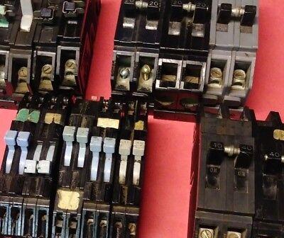 Zinsco GTE Sylvania Magnatrip Circuit Breaker Q R38 RO38 HQC QC 15 20 30 40 50 (R38 Circuit Breaker)