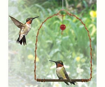 Songbird Essentials COPPER HUMMINGBIRD SWING, Model: SEHHHUMS, FREE SHIPPING
