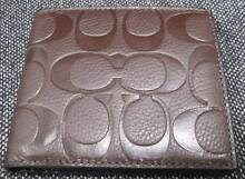 Genuine COACH Leather Men's Wallet - F75005 MAH; RRP AU$486 City North Canberra Preview