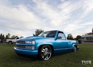 MUST SELL 1991 CUSTOM STEPSIDE ON AIR