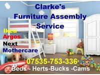 IKEA FURNITURE ASSEMBLY - FREE QUOTE -FAST RELIABLE SERVICE CALL 07535-753336