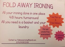 Ironing Service in and around Andover