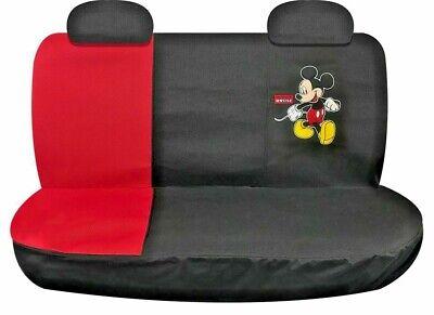 Topolino Auto Coprisedile Posteriore, Per Grande Veicoli, Disney Premium Tessuto