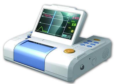 7-inch Lcd 3 Paramenters Maternalfetus Monitor Fetal Montiroing Fetal Monitor