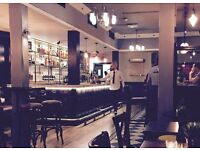 BAR/FLOOR STAFF, MONDAY TO FRIDAY City PART TIME