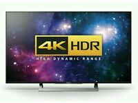 "Sony 43"" 4K UHD Smar Wi-Fi new mode Full Android tv . KD43XD8088 Model ."