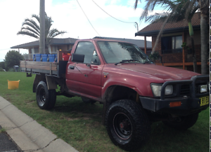 1996 Toyota Hilux Ute Port Macquarie Port Macquarie City Preview