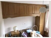 VERY CHEAP SINGLE WARDROBE WITH CABINETS
