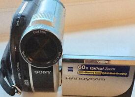 Sony DCRDVD150E Handycam Camcorder With Zoom (60x Optical, 2000x Digital)