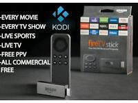Kodi 17 - Amazon fire stick - Sky TV - Movies