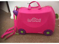 Trunki Ride On Suitcase Pink
