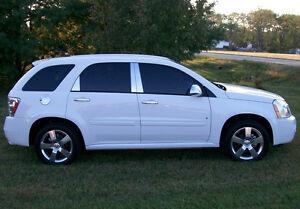 2005 2009 Chevrolet Equinox Chrome Door Handle Pillar Cover