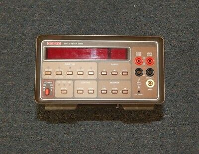 Keithley 196 System Dmm Digital Multimeter Working No Leads R16992