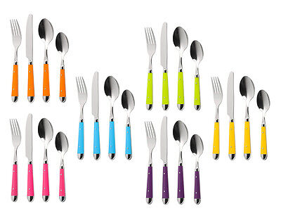 Brasserie Cutlery Set16pc in Different Colours Kitchen Accessories Brand New