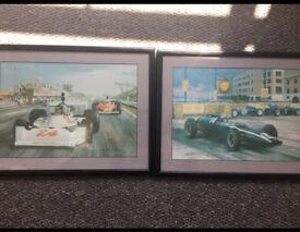 Motorsport framed pictures by Michael Turner