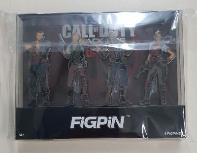 FIGPIN CALL OF DUTY BLACK OPS IV 4 ZOMBIES NUEVO